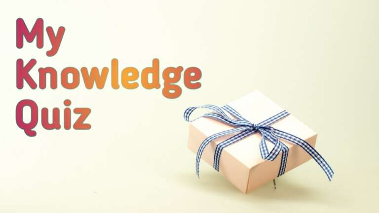 2020 How To Play My Knowledge Contest