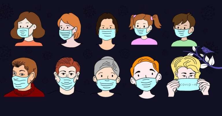 Useful Tips Face Mask पहन कर भी लोगों पर कैसे अपना प्रभाव छोड़ें