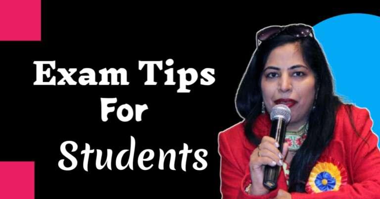 Exam Tips In Hindi – स्टूडेंट्स की सफलता लिए खास टिप्स